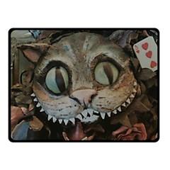 Cheshire Cat Fleece Blanket (small) by KAllan