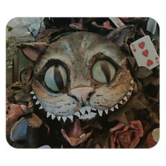 Cheshire Cat Double Sided Flano Blanket (small)  by KAllan