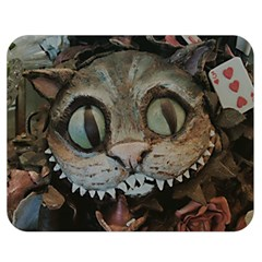Cheshire Cat Double Sided Flano Blanket (medium)  by KAllan