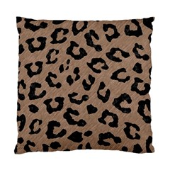 Skin5 Black Marble & Brown Colored Pencil Standard Cushion Case (two Sides) by trendistuff
