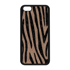 Skin4 Black Marble & Brown Colored Pencil Apple Iphone 5c Seamless Case (black) by trendistuff