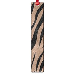 Skin3 Black Marble & Brown Colored Pencil (r) Large Book Mark by trendistuff