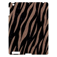 Skin3 Black Marble & Brown Colored Pencil Apple Ipad 3/4 Hardshell Case by trendistuff