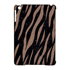 Skin3 Black Marble & Brown Colored Pencil Apple Ipad Mini Hardshell Case (compatible With Smart Cover) by trendistuff