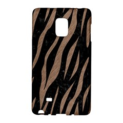 Skin3 Black Marble & Brown Colored Pencil Samsung Galaxy Note Edge Hardshell Case by trendistuff