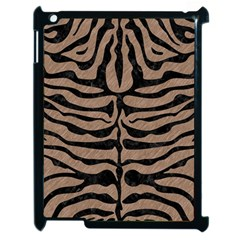 Skin2 Black Marble & Brown Colored Pencil (r) Apple Ipad 2 Case (black)