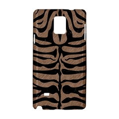 Skin2 Black Marble & Brown Colored Pencil (r) Samsung Galaxy Note 4 Hardshell Case by trendistuff