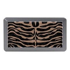 Skin2 Black Marble & Brown Colored Pencil Memory Card Reader (mini) by trendistuff