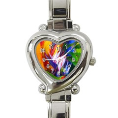 Palms02 Heart Italian Charm Watch by psweetsdesign