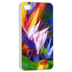 Palms02 Apple Iphone 4/4s Seamless Case (white) by psweetsdesign