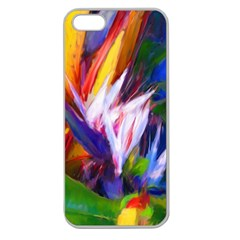 Palms02 Apple Seamless Iphone 5 Case (clear) by psweetsdesign