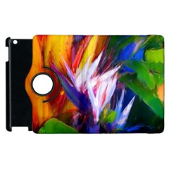 Palms02 Apple Ipad 3/4 Flip 360 Case by psweetsdesign