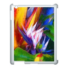 Palms02 Apple Ipad 3/4 Case (white) by psweetsdesign
