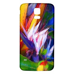 Palms02 Samsung Galaxy S5 Back Case (white) by psweetsdesign