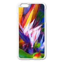 Palms02 Apple Iphone 6 Plus/6s Plus Enamel White Case by psweetsdesign