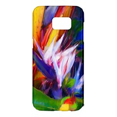 Palms02 Samsung Galaxy S7 Edge Hardshell Case by psweetsdesign