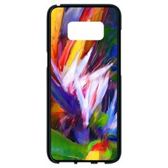 Palms02 Samsung Galaxy S8 Black Seamless Case by psweetsdesign