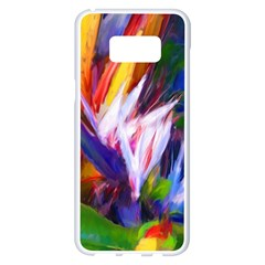 Palms02 Samsung Galaxy S8 Plus White Seamless Case by psweetsdesign