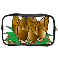 Young Bamboo Toiletries Bags 2 Side by Mariart