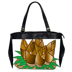 Young Bamboo Office Handbags (2 Sides)  by Mariart