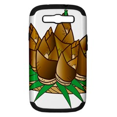 Young Bamboo Samsung Galaxy S Iii Hardshell Case (pc+silicone) by Mariart
