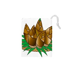 Young Bamboo Drawstring Pouches (xs)  by Mariart