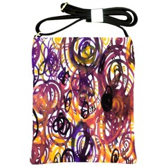 Autumnn Rainbow Shoulder Sling Bags by Mariart