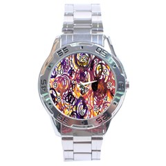 Autumnn Rainbow Stainless Steel Analogue Watch by Mariart