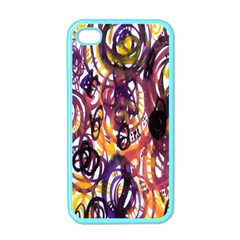 Autumnn Rainbow Apple Iphone 4 Case (color) by Mariart