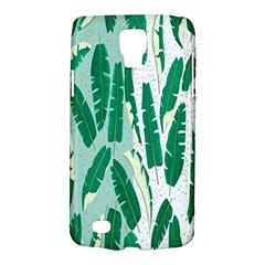 Banana Leaf Green Polka Dots Galaxy S4 Active by Mariart