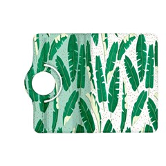 Banana Leaf Green Polka Dots Kindle Fire Hd (2013) Flip 360 Case by Mariart
