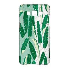 Banana Leaf Green Polka Dots Samsung Galaxy A5 Hardshell Case  by Mariart