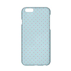 Blue Red Circle Polka Apple Iphone 6/6s Hardshell Case by Mariart