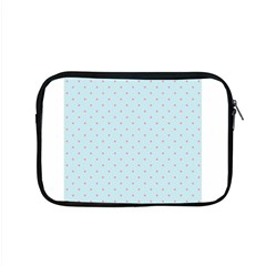 Blue Red Circle Polka Apple Macbook Pro 15  Zipper Case by Mariart