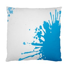 Blue Stain Spot Paint Standard Cushion Case (two Sides) by Mariart