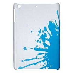Blue Stain Spot Paint Apple Ipad Mini Hardshell Case