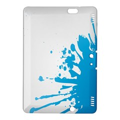 Blue Stain Spot Paint Kindle Fire Hdx 8 9  Hardshell Case by Mariart