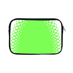 Bubble Polka Circle Green Apple Ipad Mini Zipper Cases by Mariart