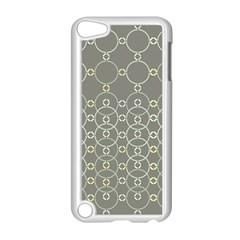 Circles Grey Polka Apple Ipod Touch 5 Case (white) by Mariart