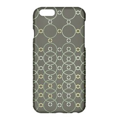 Circles Grey Polka Apple Iphone 6 Plus/6s Plus Hardshell Case by Mariart