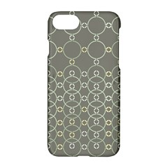 Circles Grey Polka Apple Iphone 7 Hardshell Case