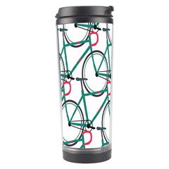 Bicycle Cycling Bike Green Sport Travel Tumbler by Mariart