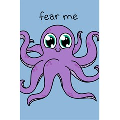 Colorful Cartoon Octopuses Pattern Fear Animals Sea Purple 5 5  X 8 5  Notebooks by Mariart