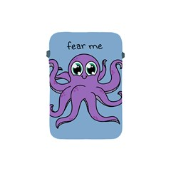 Colorful Cartoon Octopuses Pattern Fear Animals Sea Purple Apple Ipad Mini Protective Soft Cases by Mariart