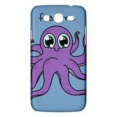 Colorful Cartoon Octopuses Pattern Fear Animals Sea Purple Samsung Galaxy Mega 5 8 I9152 Hardshell Case  by Mariart