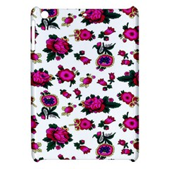 Crown Red Flower Floral Calm Rose Sunflower White Apple Ipad Mini Hardshell Case by Mariart
