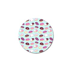 Donut Jelly Bread Sweet Golf Ball Marker (4 Pack) by Mariart