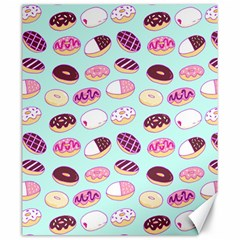 Donut Jelly Bread Sweet Canvas 20  X 24   by Mariart