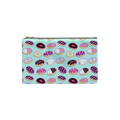 Donut Jelly Bread Sweet Cosmetic Bag (small)  by Mariart