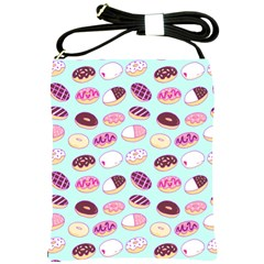 Donut Jelly Bread Sweet Shoulder Sling Bags by Mariart